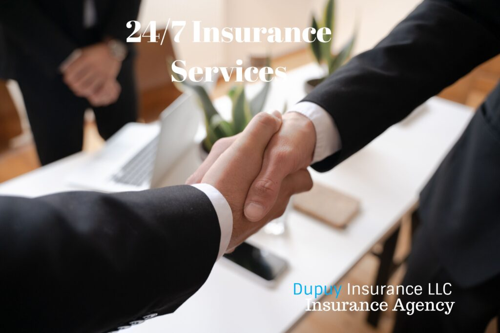 24 hours 7 days 365 days insurance services